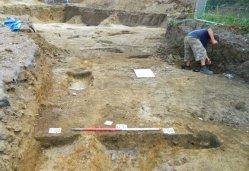 Excavation underway.