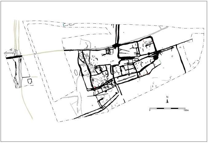 Plan of the Roman settlement.
