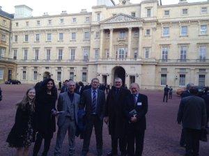 At the Palace.