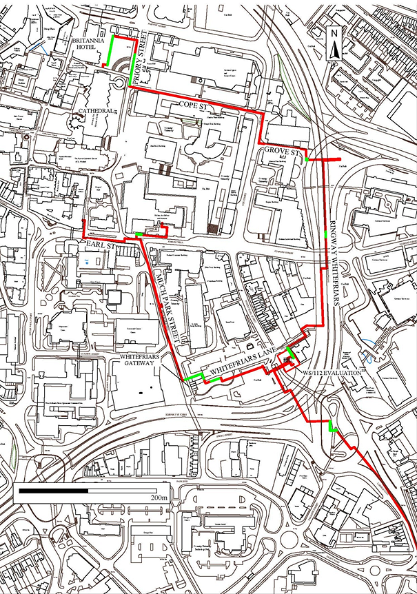 Medieval Coventry revealed in city's Heatline Project