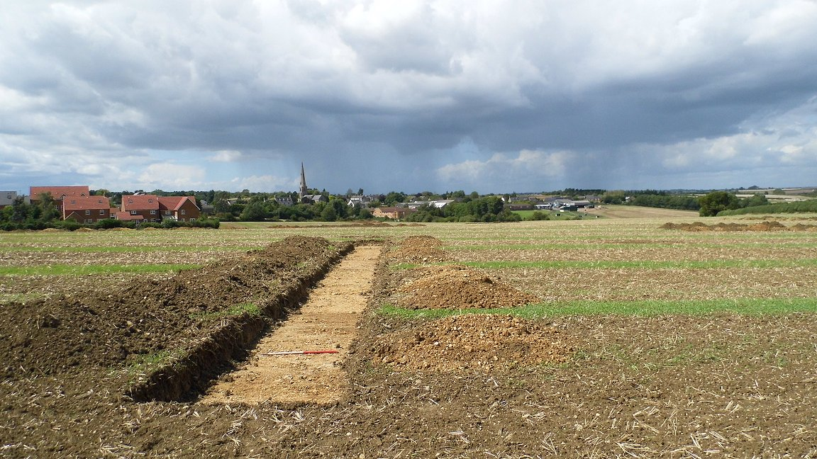 Evidence of medieval iron production found at Irchester, Northamptonshire