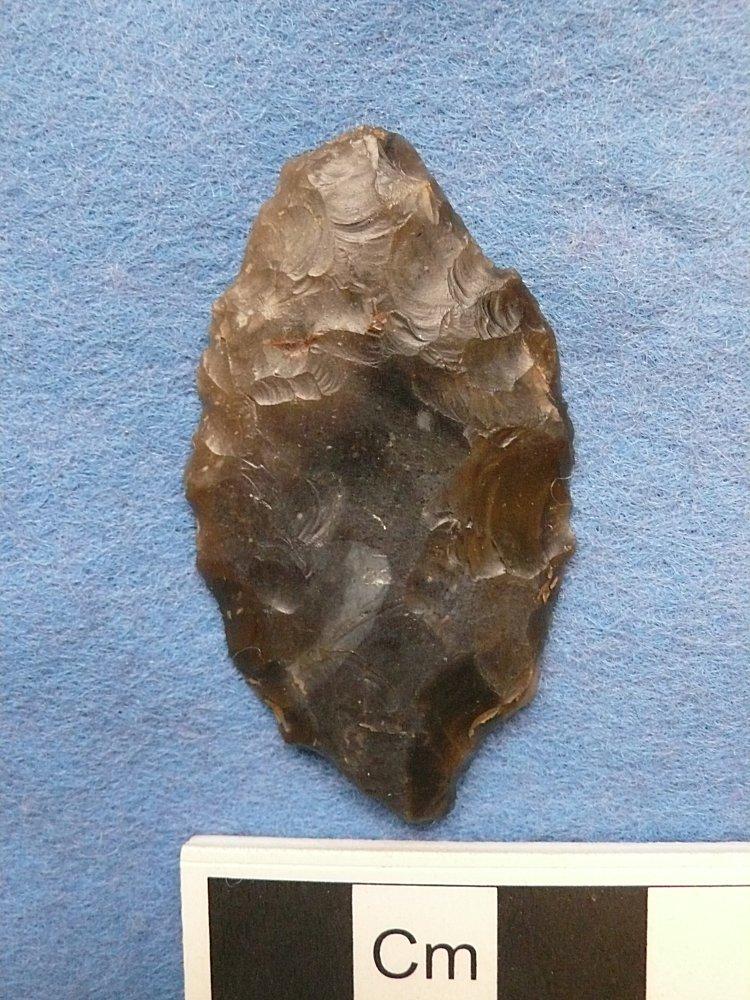 Flint knife found near Asfordby