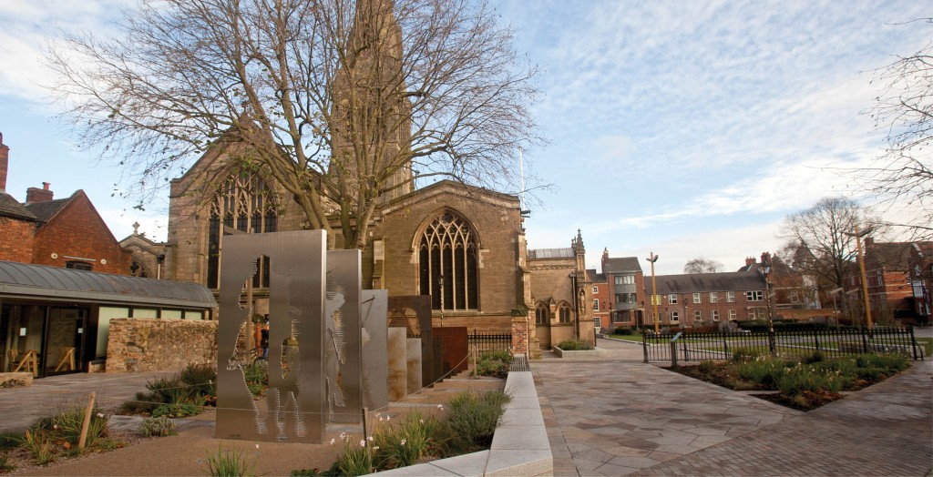Medieval hospital revealed in Leicester's Cathedral Gardens
