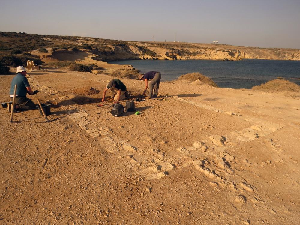 2 UofL excavation Dreamers Bay Sept 2015 (c) Simon James IMG_2871