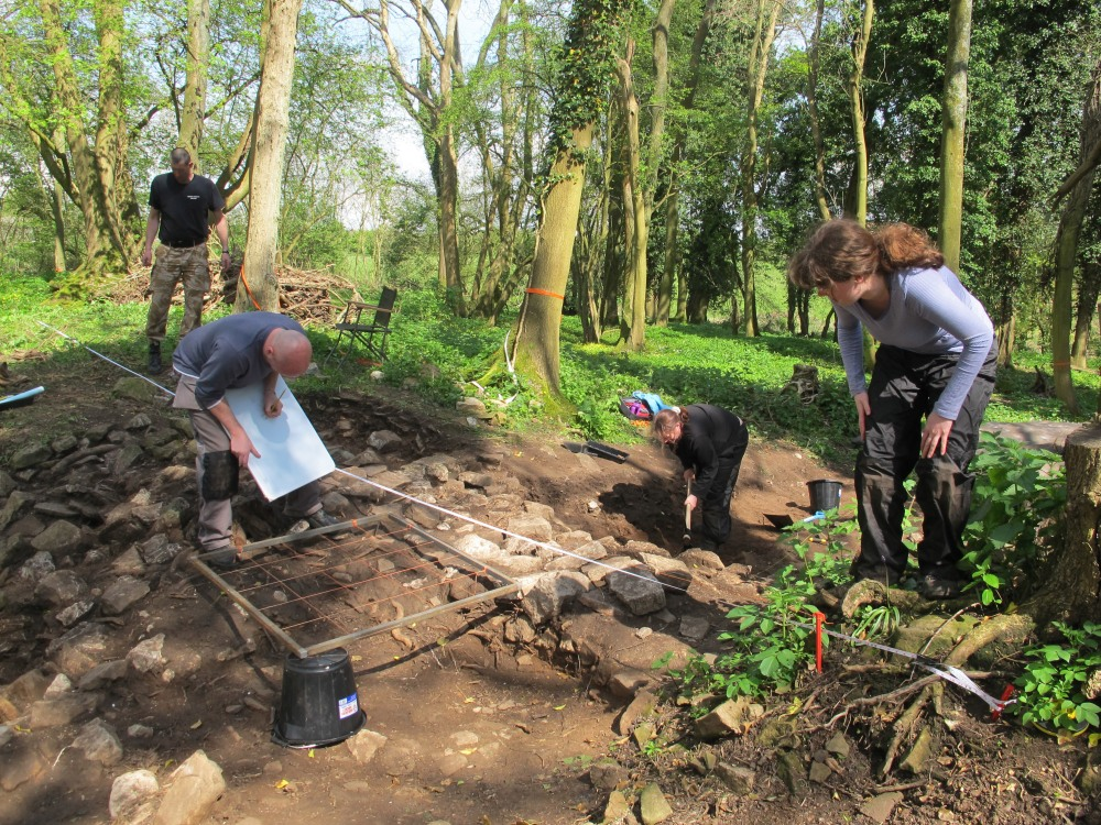 4 Op Nightingale excavation Caerwent Training Area 2014  (c) Simon James IMG_1628edited