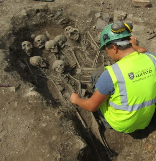 Medieval burials Bath Lane (Waterside)