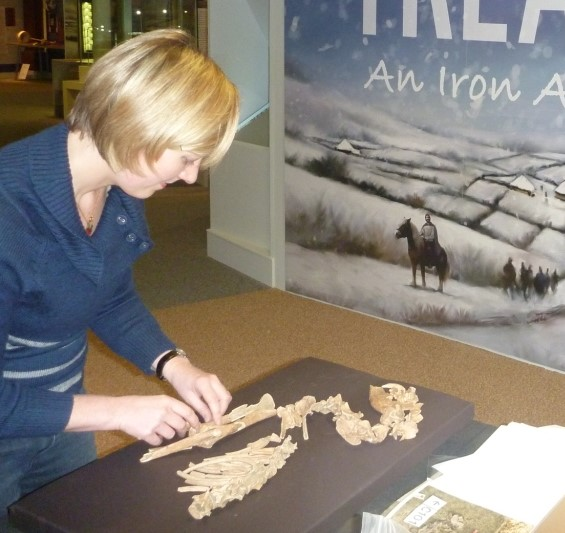 Jen Browning, Project Office, University of Leicester Archaeological Services (ULAS)